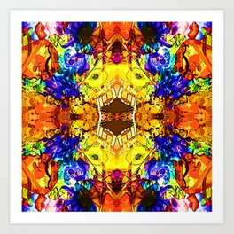 Pattern-194 Art Print