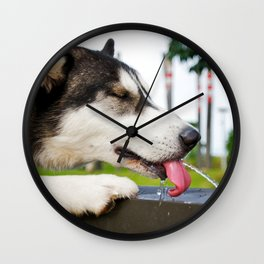 Refreshing Wall Clock