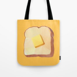 Toast with Butter polygon art Tote Bag