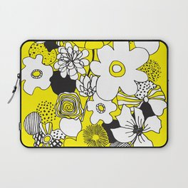 Floral Medley - Yellow Laptop Sleeve