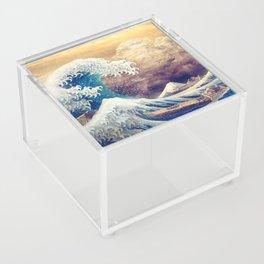 The Great Wave off Kanagawa Acrylic Box