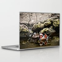 duck Laptop & iPad Skins featuring Duck by Anand Brai