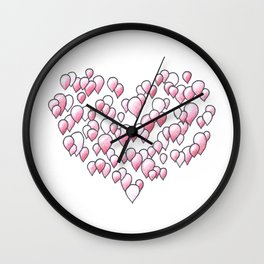 99 Red Balloons Wall Clock