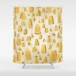 Metallics / Gold Shower Curtain