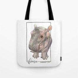 Fiona the Hippo - Bashful Tote Bag