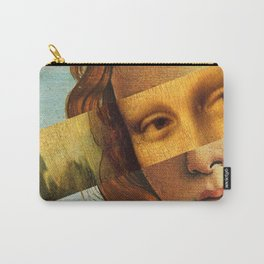 Botticelli's Venus and Mona Lisa Carry-All Pouch