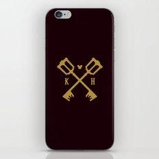 Crossed Keys iPhone & iPod Skin