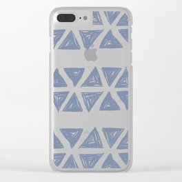 Traingles - Cactus in the Sky Clear iPhone Case