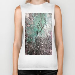 Pour on Pine by Sharon Perry. Biker Tank