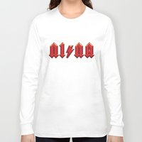 acdc Long Sleeve T-shirts featuring For those about to walk by Quique Ollervides
