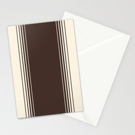 Coffee & Crème Vertical Gradient Stationery Cards