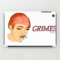 grimes iPad Cases featuring Grimes by caxcma
