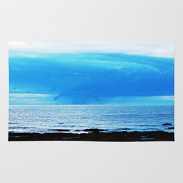 Storm Funnels Above the Sea Rug