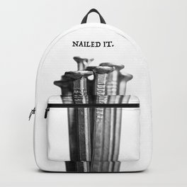 NAILED IT. Backpack