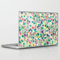 dots Laptop & iPad Skins featuring Dots by moniquilla