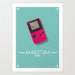 Amuletum Project Art Print