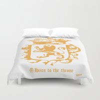 narnia Duvet Covers featuring King by John Choi King