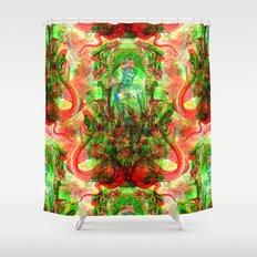 Aesculapius Shower Curtain