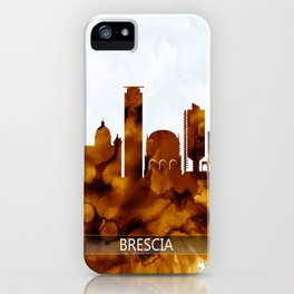 Brescia Italy Skyline iPhone Case
