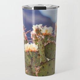 Prickly Pear Cactus Blooms, II Travel Mug