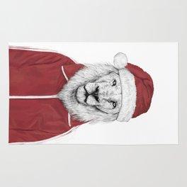 Santa lion Rug