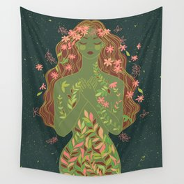 fall nymph Wall Tapestry