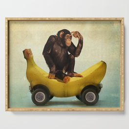 Chimp my Ride Serving Tray