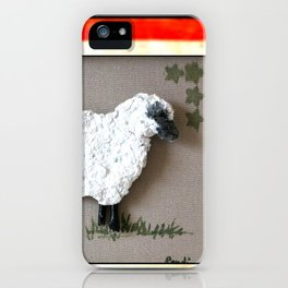 Lambkins, the Patriot iPhone Case