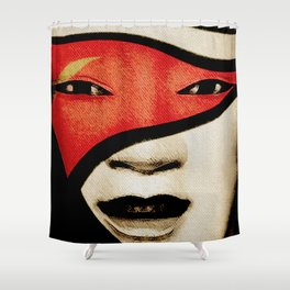 遊び心 (Joker Spirit) Shower Curtain