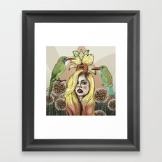Toucanette Framed Art Print