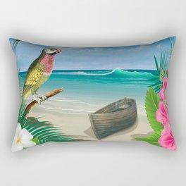 Tropical Paradise Rectangular Pillow