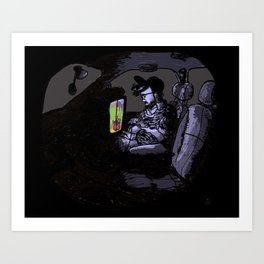 The Passenger Art Print