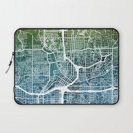 Atlanta Georgia City Map Laptop Sleeve