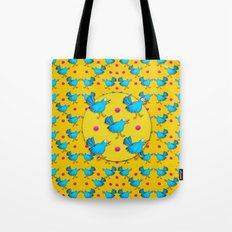 Happy Birds Tote Bag