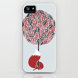 The guardian of the red tree iPhone Case