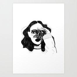 The Vigilante Art Print