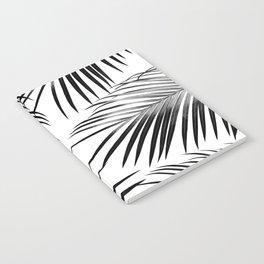 Black Palm Leaves Dream #2 #tropical #decor #art #society6 Notebook