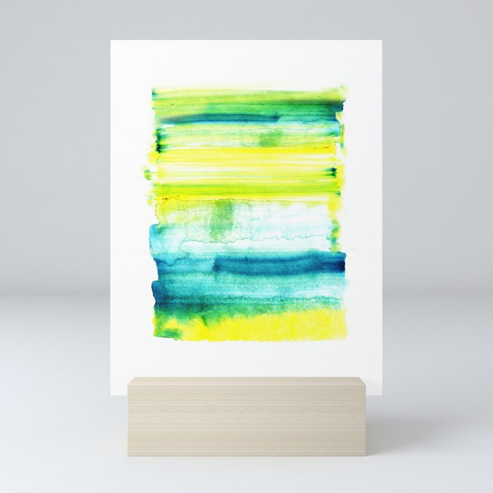 Swimming Upstream Mini Art Print
