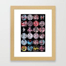 Pinup Girls Framed Art Print