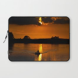 Rowing out of the sun Laptop Sleeve