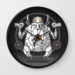 Zen Robot Wall Clock