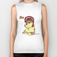 doge Biker Tanks featuring Diamond Doge by merimeaux