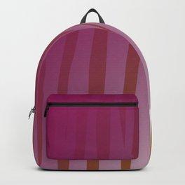 wild design exotic lines Pink Backpack