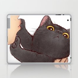 cat : huuh Laptop & iPad Skin