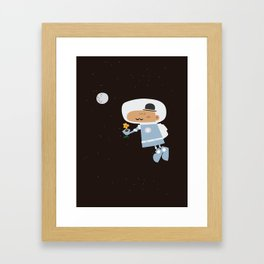 Contigo, al fin del mundo Framed Art Print