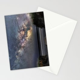 Sea of Stars at the beach Stationery Cards