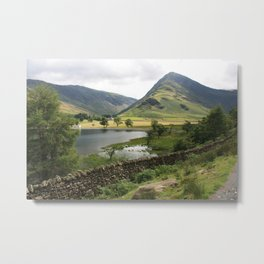 The Lake District Metal Print