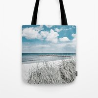 brazil Tote Bags featuring BRAZIL by Iris Lehnhardt