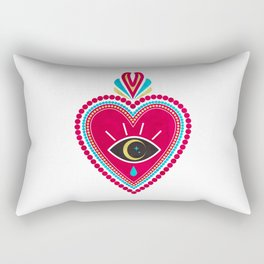 Ex Voto Sacred Heart Rectangular Pillow