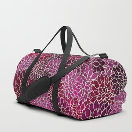 Floral Abstract 12 Duffle Bag